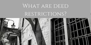 Deed Restriction Presentation