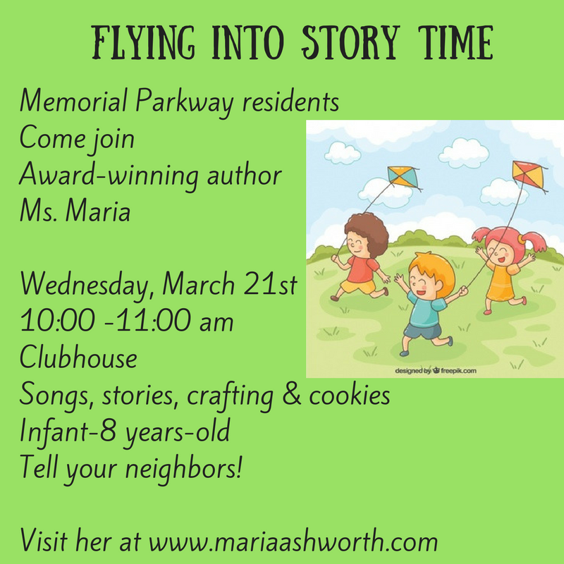 Children's Story Time for March
