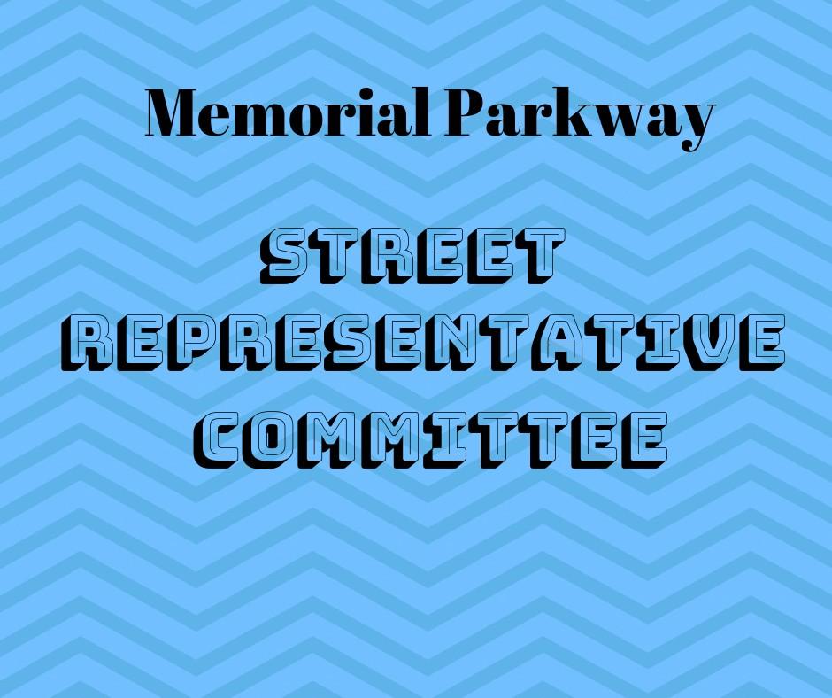 Memorial Parkway Street Representative
