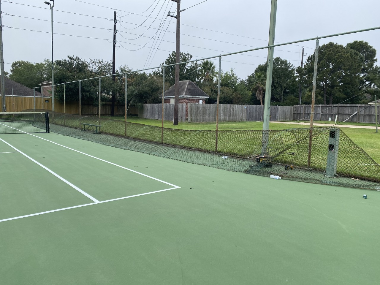 Highland Knolls Court Fencing