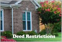 Open Deed Restriction Matters as of March 22, 2021
