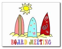 September HOA Board Meeting